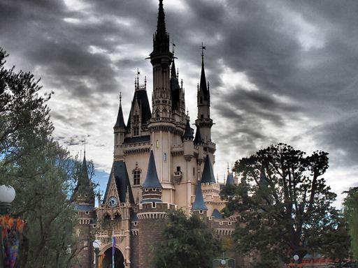 Disneyお城